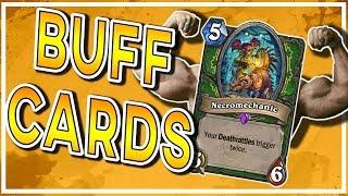 Blizzard Buff Cards & A New Legendary