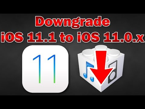 How to Downgrade iOS 11.1.1 / 11.1 to 11.0.3 / 11.0.2 / 11.0.1 on iPhone, iPod touch & iPad