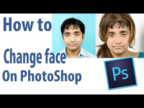 How to Morph/swap face using photoshop - Tutorials