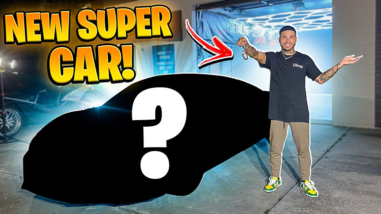 PICKING UP MY BRAND NEW UPDATED SUPERCAR ! | BRAAP VLOGS