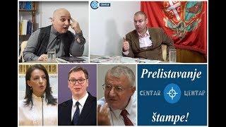 Prelistavanje štampe: Vučić je gotov, Voja i Marinika u istom danu protiv njega!