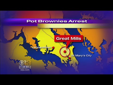 St. Mary's Co. Student Charged After Selling Pot Brownies At School