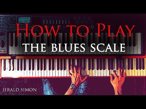 How to Play The Blues Scale
