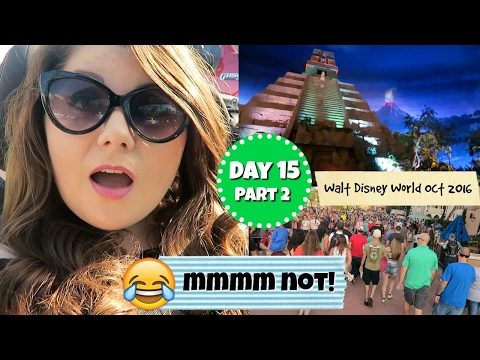 Disney World vlogs 2016 - Day 15 part 2 : Magic kingdom and epcot