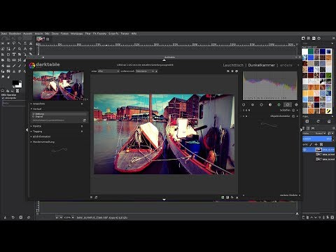 Gimp 2.10: RAW-File laden und bearbeiten