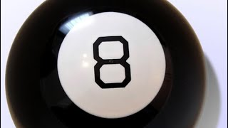 WHAT DID THIS MAGIC 8 BALL SAY?!