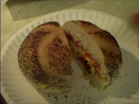 NY deli style bacon, egg, and cheese sandwich recipe