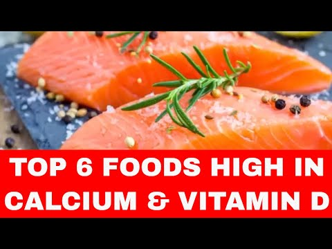 TOP 6 Foods Rich in Calcium and Vitamin D - Foods High in Calcium and Vitamin D
