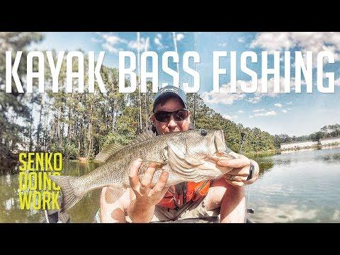 Kayak Bass Fishing with the Hobie Pro Angler