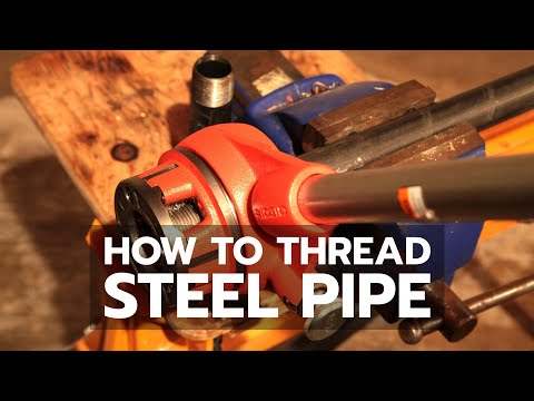 DEMO: How to Thread Steel Pipe