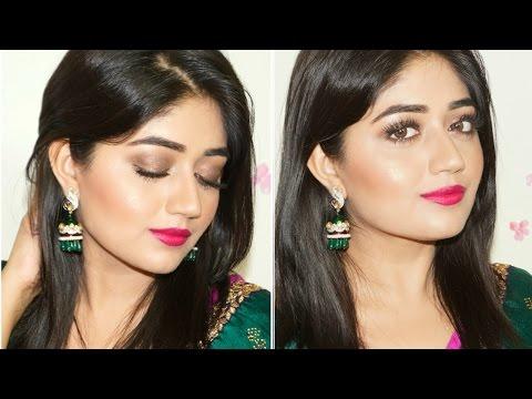 Indian Festive Makeup : Fuchsia Lips Tutorial | corallista