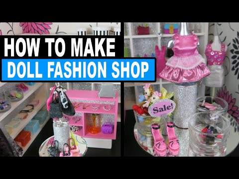 How to Make Doll Store Monster High Barbies Doll Crafts