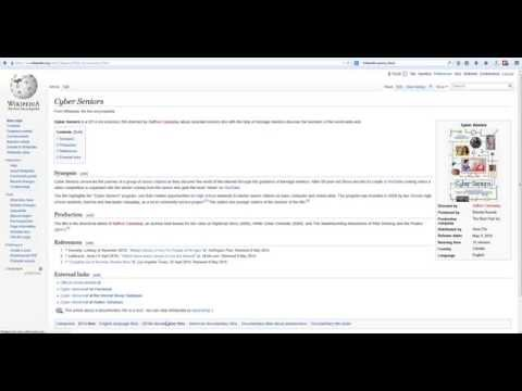 Wikipedia Tutorial: Creating Categories