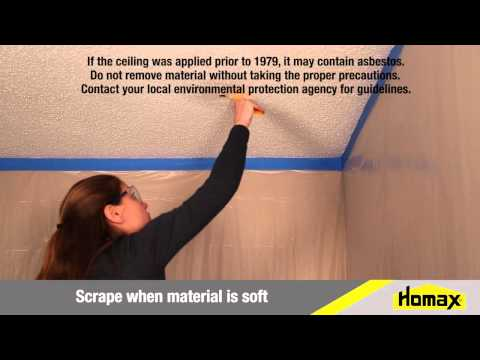 How To Repair Popcorn Ceiling Texture
