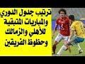 ترتيب الدوري المصري والمباريات المتبقية للأهلي والزمالك وفرص الفوز بالبطولة