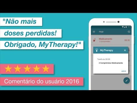 Lembrete medicação MyTherapy