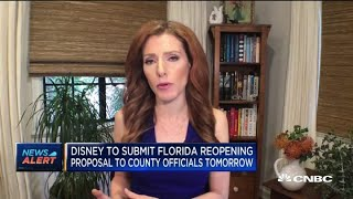 Disney to submit Florida reopening proposal to county officials tomorrow