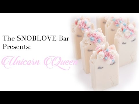 The Making of Unicorn Queen a Cold Process Soap