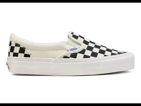Shoe Review: Vans Vault Originals 'Canvas' OG Classic Slip-On LX (Black/White/Checkerboard)