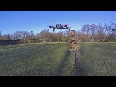 Strober's New Backpack Drone for Aerial Photogrpahy