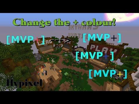 Minecraft Hypixel | Change Your + Colour (MVP+)