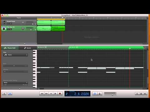 How to make a beat in Garage Band Step Sequencer (Tutorial)