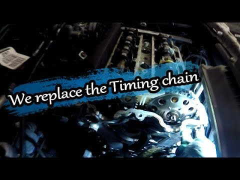 Episode 11. We replace the Corsa Timing chain.