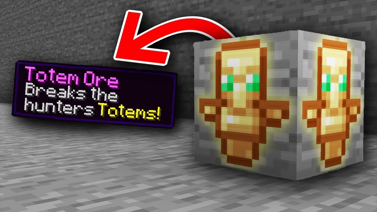 Minecraft Manhunt, But There Are Custom Ores