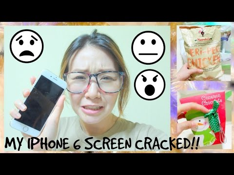 MY IPHONE 6 SCREEN CRACKED!!! =( + GROCERY HAUL!
