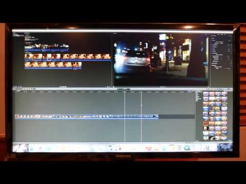 Mac Mini 2014 With A 4K Monitor and Final Cut X