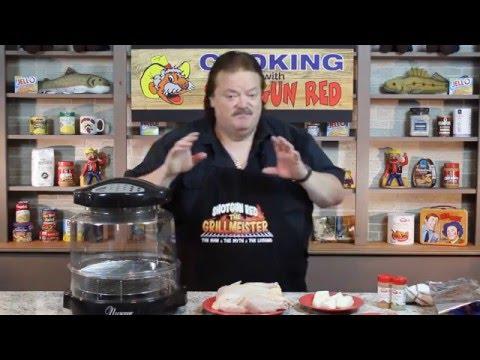 NuWave Oven Cajun Chicken!