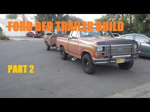 Building a Bed Trailer Part 2