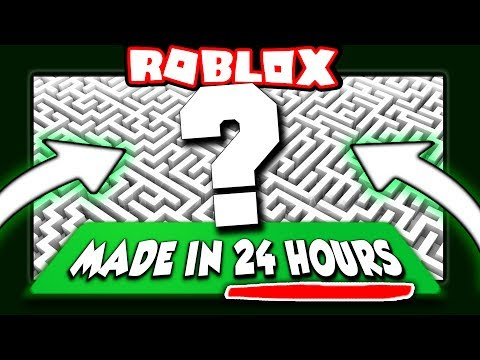 WE CREATED A ROBLOX GAME IN 1 DAY