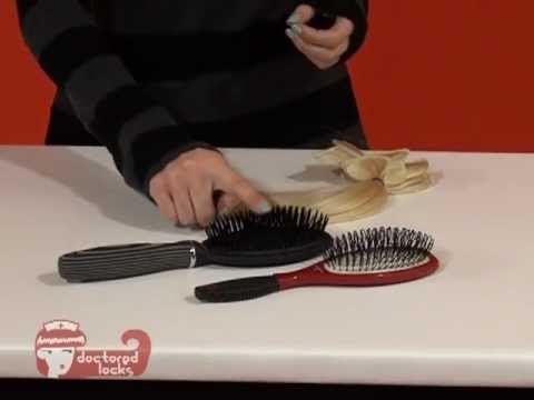 Learn What Brush Is Right For Your Hair Extensions