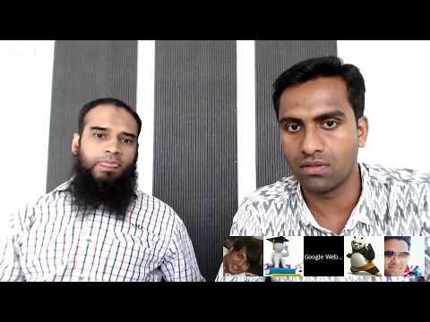 गूगल द्वारा हिंदी वेबमास्टर्स के लिये Hangouts ऑन एयर (मई '17)