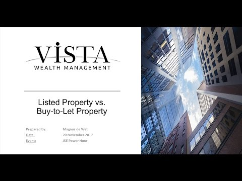 JSE Power Hour: Listed property or buy-to-let