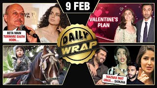 Ranbir Alia Valentines Plan, Anupam Kher Supports Kangana, URI 200 Crores | Top 10 News