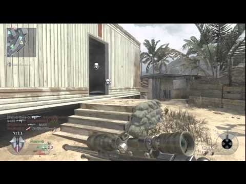 Black Ops | Sniping on Firing Range. Hitmarkers are BS.