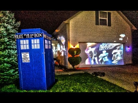 Doctor Who House Halloween 2013 Scare Prank