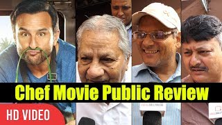 Chef Movie Public Review | Saif Ali Khan, Padmapriya Janakiraman | Chef Movie Review