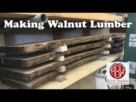 Milling Walnut on my Grizzly G0513X2 Bandsaw