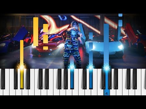 Lil Pump - Butterfly Doors - Piano Tutorial