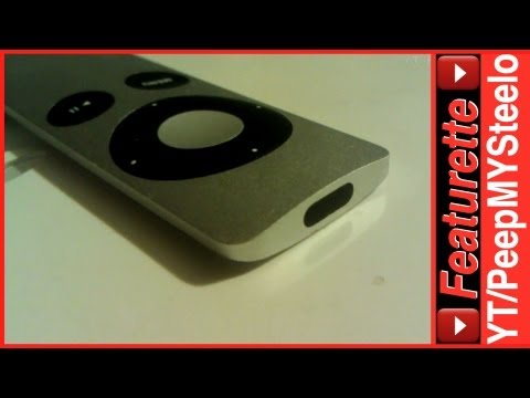 Apple TV Remote Control Replacement For New Black 1080p HD w/ HDMI & iPad or iPhone iOS App