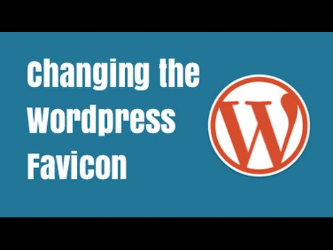 Changing the Wordpress Favicon