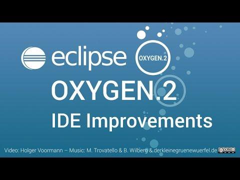 Eclipse Oxygen.2 IDE Improvements: Java IDE, Git and C/C++