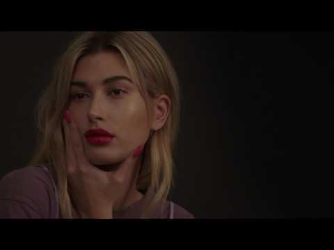 Hailey Baldwin for ModelCo: Lip Secrets