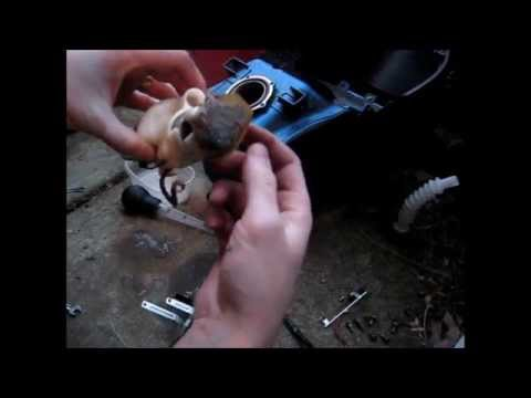 Fuel Pump tear down / clean out.  (Long Cut) 2006 Ninja ZX6R 636