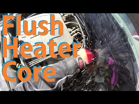 How to Flush Heater Core- Malibu