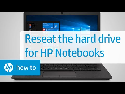 Reseating the Hard Drive in an HP Notebook