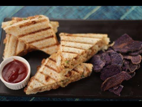 Baked Beans Sandwich   Sanjeev Kapoor Khazana